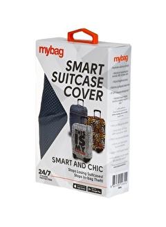 My Bag My Bag 4585 cm Polyester Unisex Valiz Kılıfı